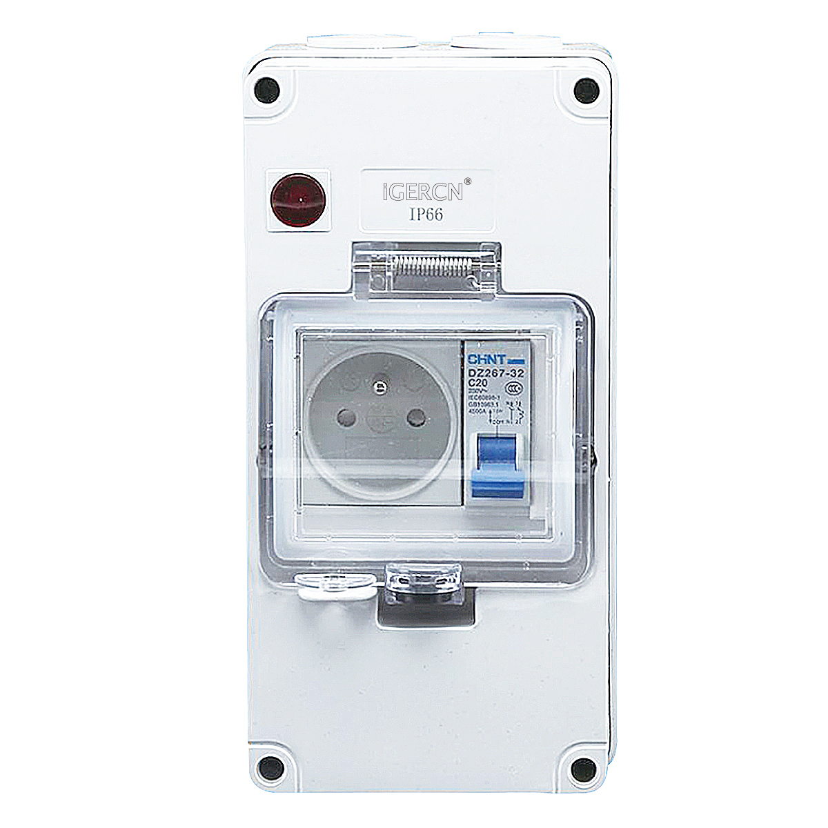 IGLCB4N-1G1FR(1Gang Switch Socket 16A-250V~)