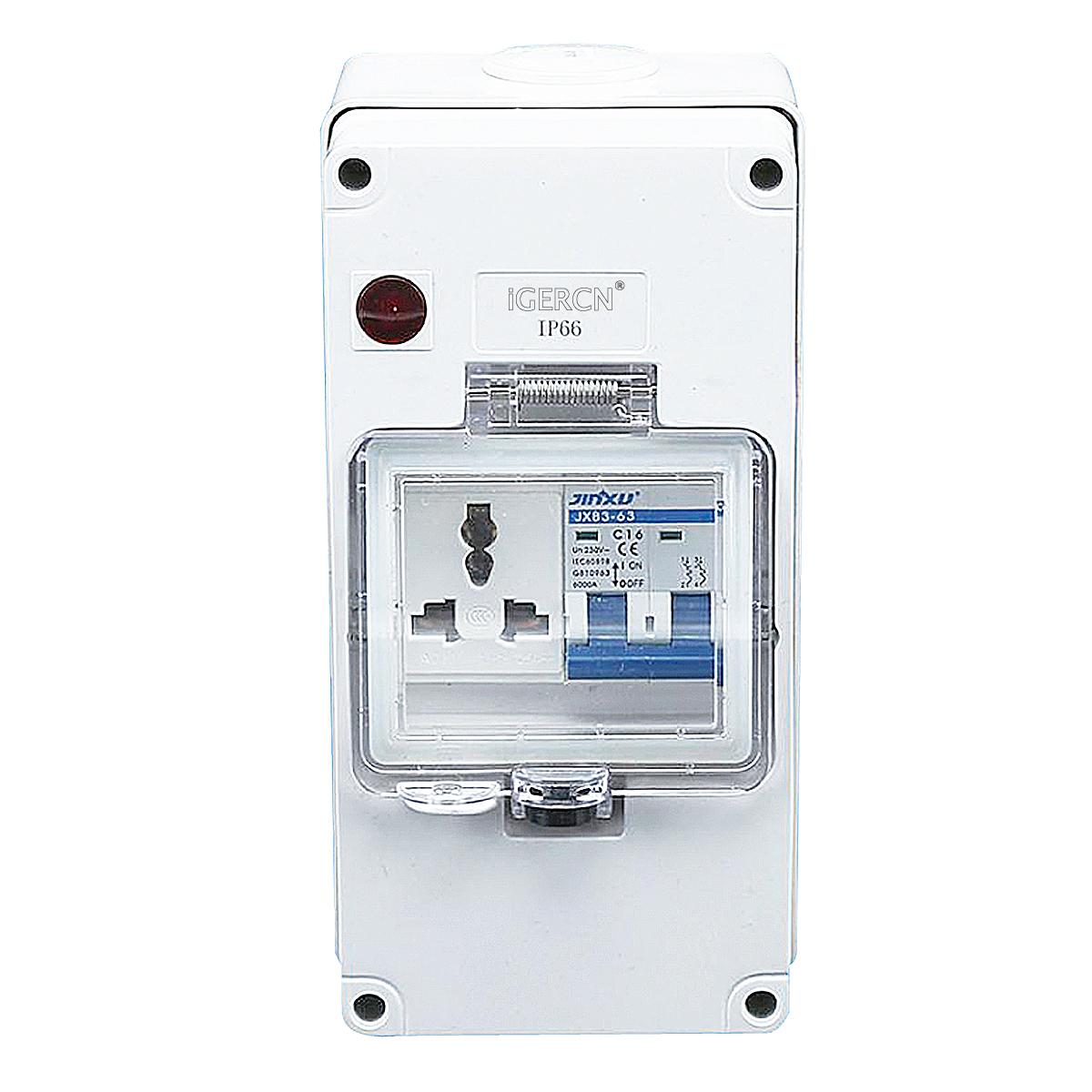 IGLB4N-1G1U(1Gang Switch Socket 13A-250V~)