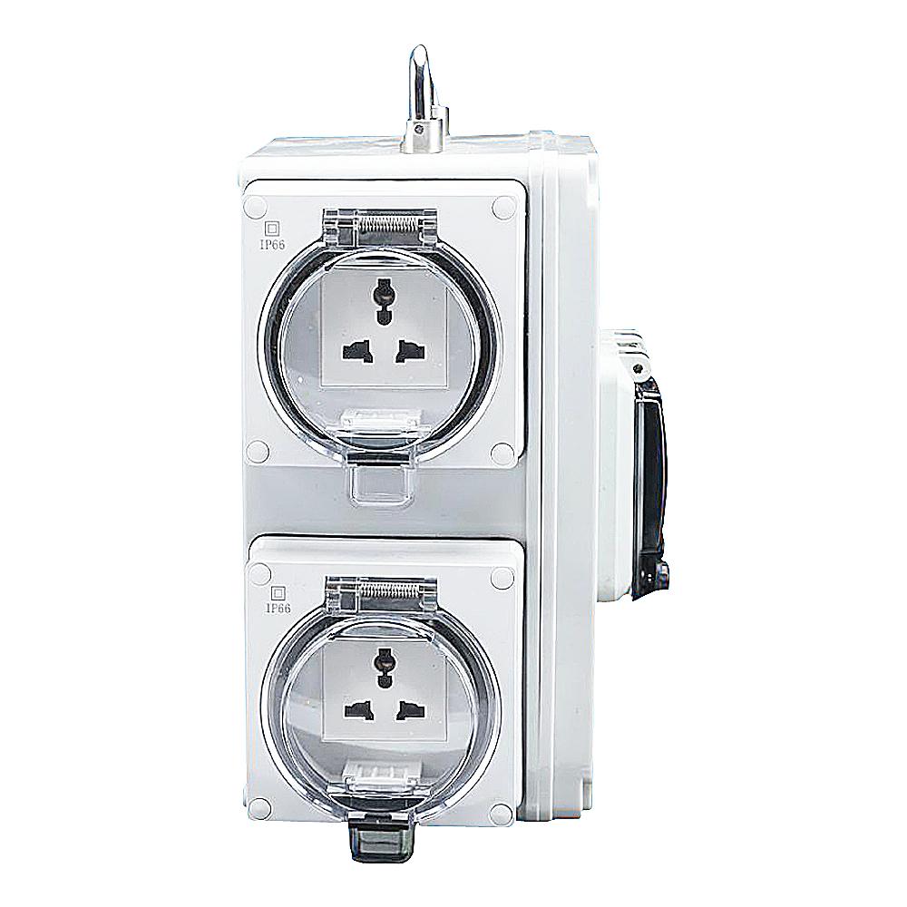 IGL66C-1G4U(1Gang Switch 4Gang Socket 13A-250V~)
